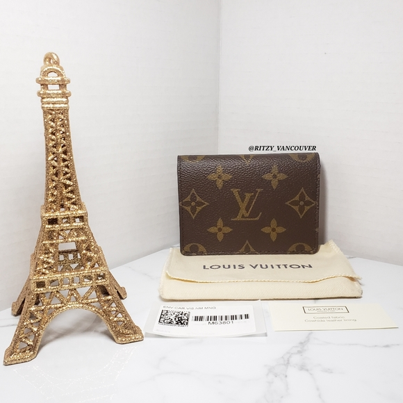 "Louis Vuitton ""ENVELOPE BUSINESS CARD HOLDER"""